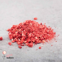 Diced Freeze Dried Strawberry Pieces