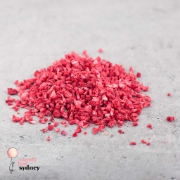 Diced Freeze Dried Raspberries 25g