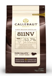 Callebaut 811 Dark Chocolate Callets 2.5kg