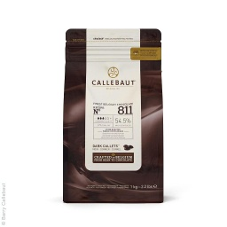 Callebaut 811 Dark Chocolate Callets 1kg