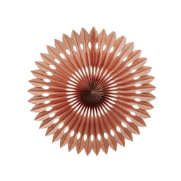 Rose Gold Hanging Fan 24cm