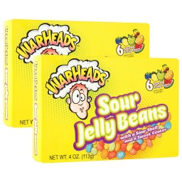 Warhead Sour Jelly Beans 113g