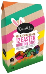 Darrell Lea Foiled Hunting Milk Chocolate Eggs 204g