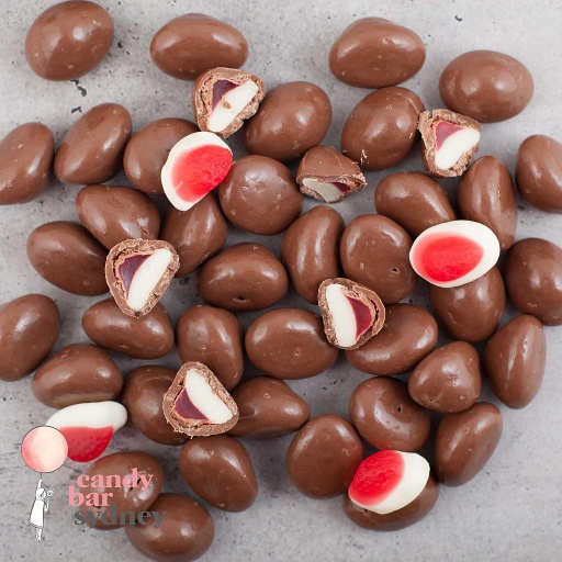 Belgian Milk Chocolate Allen's Strawberries & Cream