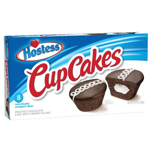 Hostess Chocolate Cupcakes 8 Pack