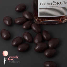 Dark Domori Smoked Almonds