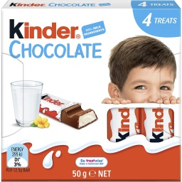 Kinder Chocolate - 50g 4 Pack