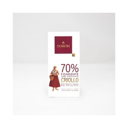 Domori Criollo Blend 70% Dark Chocolate 50g