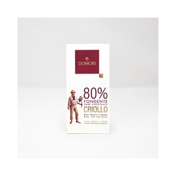 Domori Criollo Blend 80% Dark Chocolate 50g