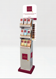 Domori Floorstand Display with 108 Assorted 75g Bars