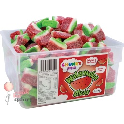 Watermelon Slices Tub 1.45kg - Chunky Funkeez