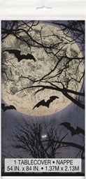 Spooky Night Tablecover 137cm X 213cm