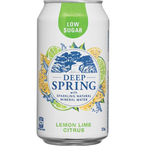 Deep Spring - Lemon, Lime & Citrus 375ml