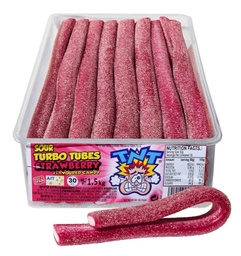 TNT Sour Strawberry Turbo Tubes