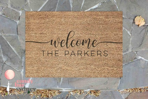 Personalised Welcome Door Mat
