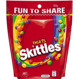 Skittles Fruits Share Pouch 200g