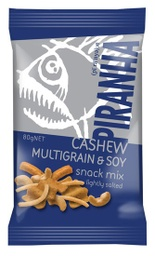 Piranha Cashew Multigrain & Soy Snack Mix Lightly Salted 80g