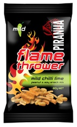 Piranha Flame Thrower Mild Chilli Lime 80g