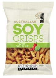 Piranha Soy Crisps Sweet Chilli Lime 100g