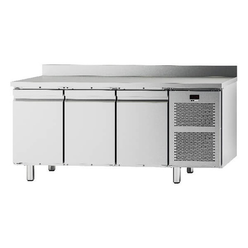 Pomati Ventilated Refrigerated Tables with 3 doors
