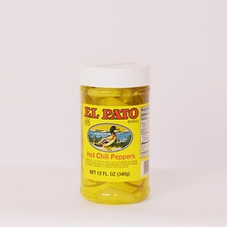 El Pato Yellow Chilli Peppers 340g