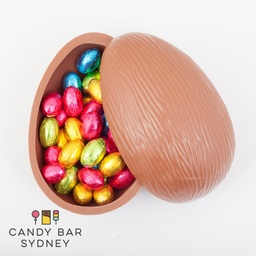 Belgian Milk Chocolate Egg Filled with Witor's Eggs 350g